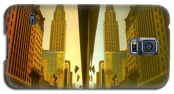 Chrysler Reflection On 42nd Street Galaxy S5 Case