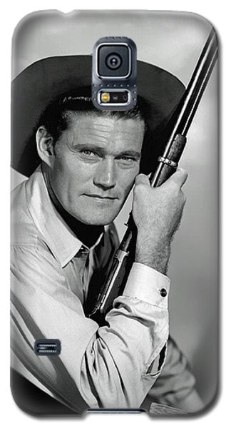 Chuck Connors - The Rifleman Galaxy S5 Case by Mountain Dreams