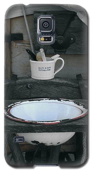 Chuck Wagon Wash Basin Galaxy S5 Case by Kae Cheatham