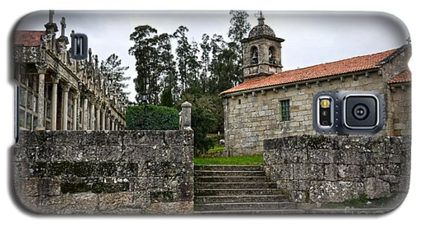 Church And Cemetery In A Small Village In Galicia Galaxy S5 Case