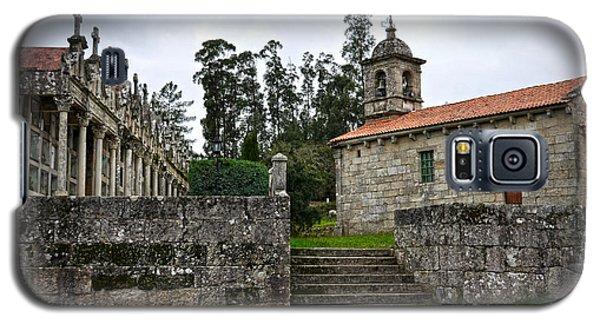 Church And Cemetery In A Small Village In Galicia Galaxy S5 Case