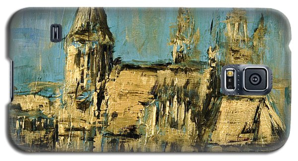 Galaxy S5 Case featuring the painting Church by Arturas Slapsys