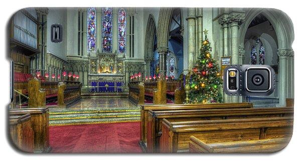 Church At Christmas V3 Galaxy S5 Case