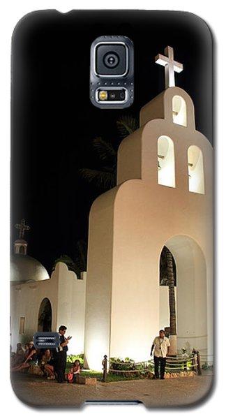 Church At Night In Playa Del Carmen Galaxy S5 Case