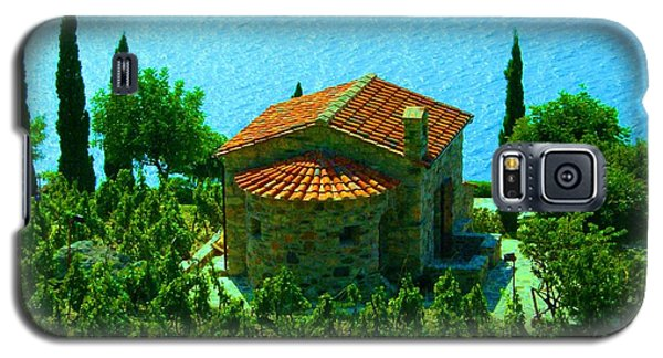 Galaxy S5 Case featuring the photograph Enchanted Church Between Sea And Nature by Giuseppe Epifani
