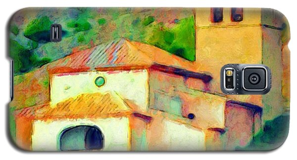 Church In Riglos Spain - Square Galaxy S5 Case