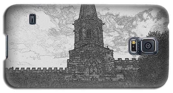 Church In Sketch Galaxy S5 Case