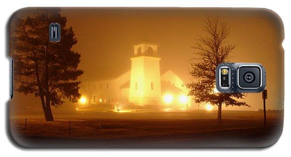 Church In The Fog Galaxy S5 Case