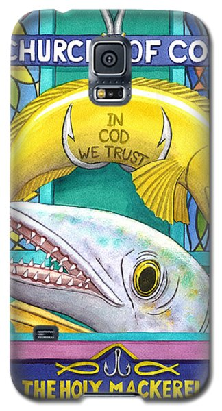 Church Of Cod Galaxy S5 Case