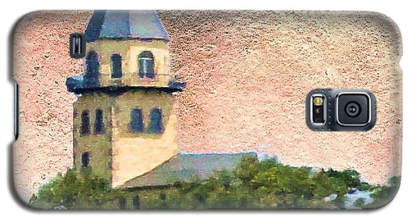 Church On Hill Galaxy S5 Case by Janette Boyd