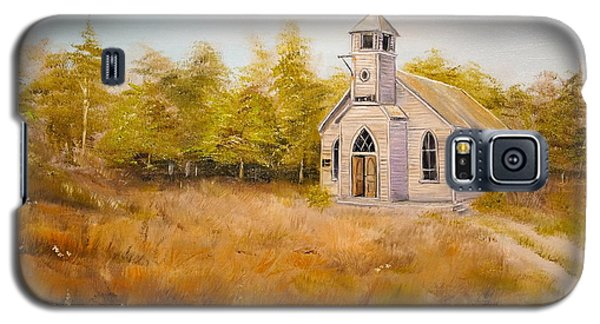 Church On The Hill Galaxy S5 Case by Alan Lakin