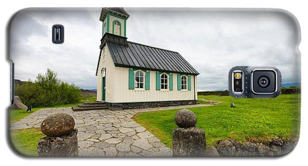 Church Pingvallakirkja South Iceland Pingvellir Galaxy S5 Case
