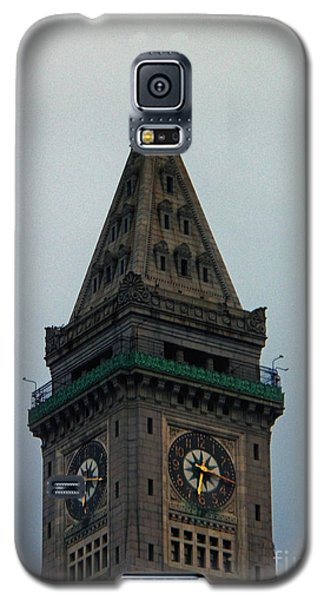 Galaxy S5 Case featuring the photograph Church Steeple In Boston by Gena Weiser