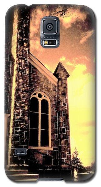 Church Vignette Against Sky Galaxy S5 Case