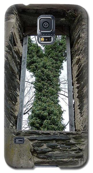 Church Window Galaxy S5 Case by Jane Ford
