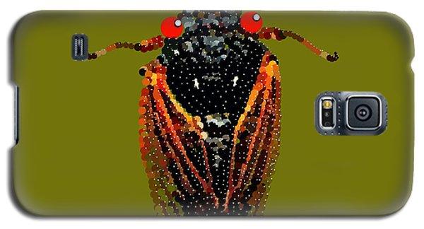 Cicada In Green Galaxy S5 Case
