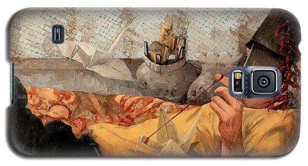 Cicogna Da Passeggio Galaxy S5 Case by Guido Borelli