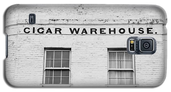 Galaxy S5 Case featuring the photograph Cigar Warehouse by Ross Henton