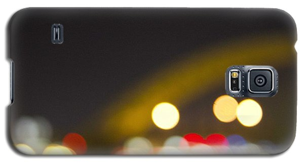 Cincinnati Night Lights Galaxy S5 Case by Daniel Sheldon