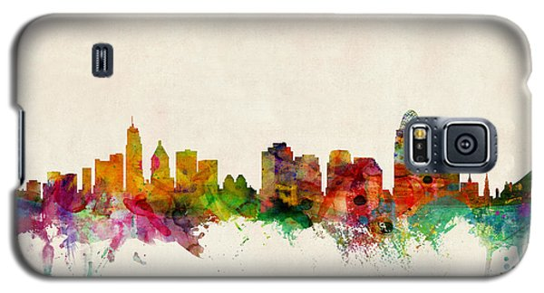 Cincinnati Ohio Skyline Galaxy S5 Case
