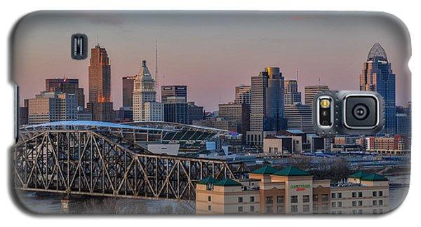 D9u-876 Cincinnati Ohio Skyline Photo Galaxy S5 Case