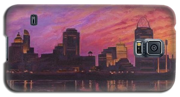 Cincinnati Skyline Galaxy S5 Case by Andrew Danielsen
