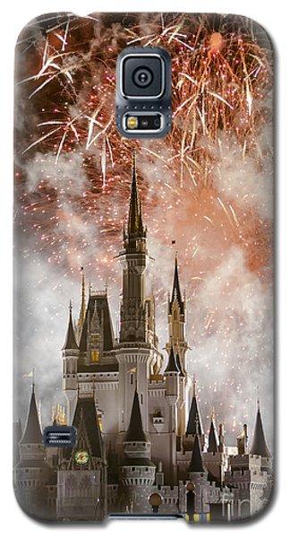 Magic Kingdom Castle Firework Finale Galaxy S5 Case