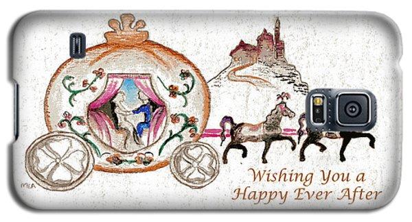 Cinderella Wedding Message Galaxy S5 Case