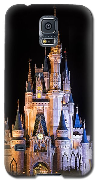 Cinderella's Castle In Magic Kingdom Galaxy S5 Case