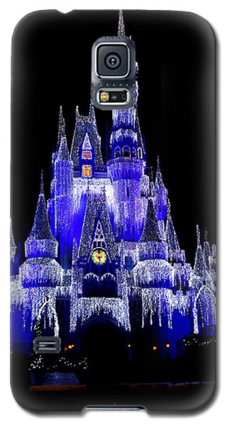 Galaxy S5 Case featuring the photograph Cinderella's Castle by Laurie Perry