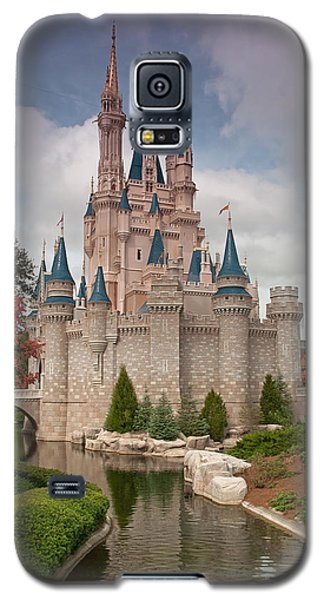 Galaxy S5 Case featuring the photograph Cinderella's Enchanted Castle by John Black