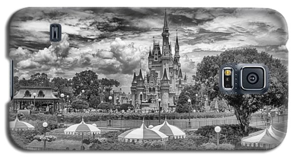 Galaxy S5 Case featuring the photograph Cinderella's Palace by Howard Salmon