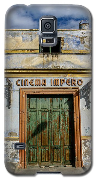 Galaxy S5 Case featuring the photograph Cinema Impero by Glenn DiPaola