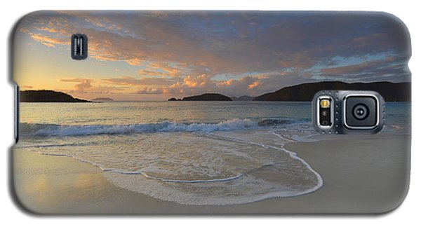 Cinnamon Bay At Sunset Galaxy S5 Case by Stephen  Vecchiotti