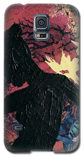 Galaxy S5 Case featuring the painting Cinnamon by Jacqueline McReynolds