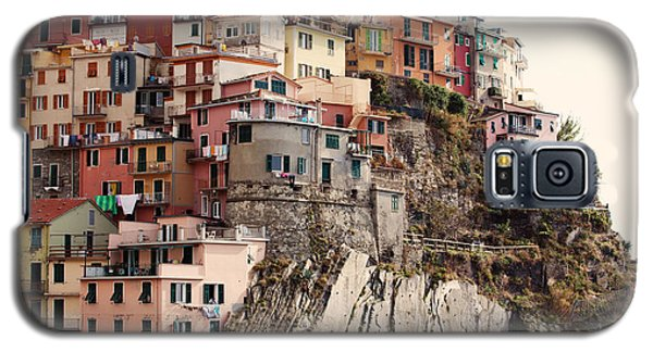 Cinque Terre Mediterranean Coastline Galaxy S5 Case by Kim Fearheiley
