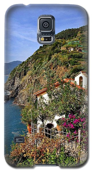 Cinque Terre Seaside Galaxy S5 Case by Henry Kowalski