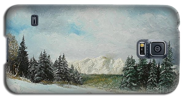 Galaxy S5 Case featuring the painting Cioplea by Sorin Apostolescu