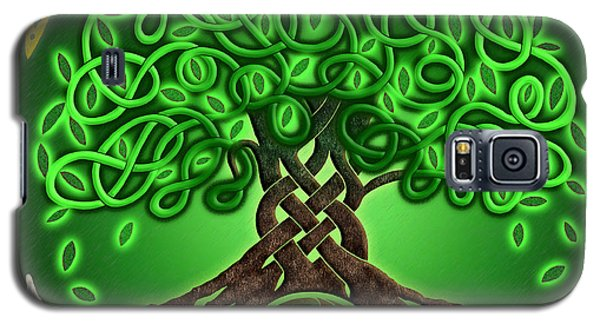 Circle Celtic Tree Of Life Galaxy S5 Case