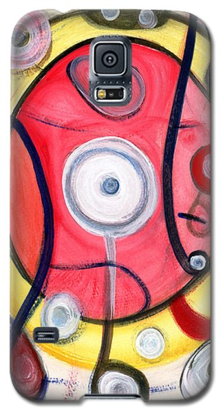 Galaxy S5 Case featuring the painting Circle For Lovers by Stephen Lucas