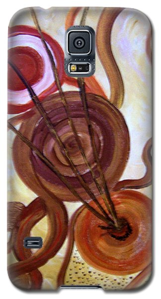 Circle Of Life Galaxy S5 Case by Renate Voigt