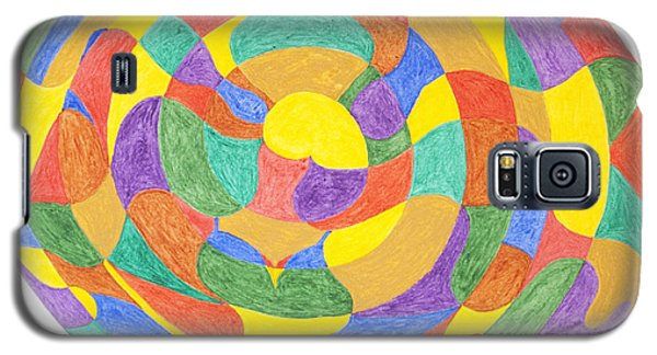 Galaxy S5 Case featuring the painting Life Cycles by Stormm Bradshaw