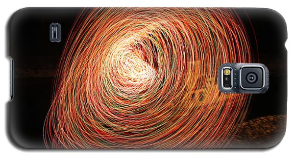 Circle Of Light Galaxy S5 Case by Cathie Douglas