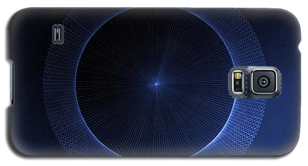 Galaxy S5 Case featuring the drawing Circles Don't Exist Pi 180 by Jason Padgett