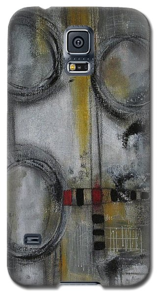 Galaxy S5 Case featuring the painting Circles Of Life by Nicole Nadeau