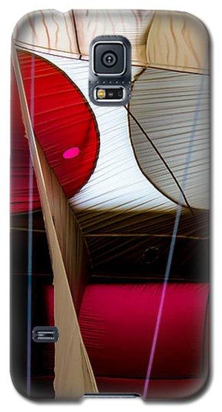 Circles Within Circles - Inside A Hot Air Balloon Galaxy S5 Case
