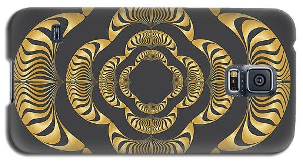 Galaxy S5 Case featuring the digital art Circularity No. 11 by Alan Bennington