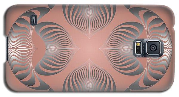 Galaxy S5 Case featuring the digital art Circularity No. 13 by Alan Bennington
