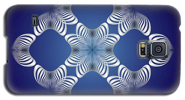 Galaxy S5 Case featuring the digital art Circularity No. 14 by Alan Bennington
