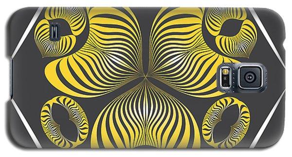 Galaxy S5 Case featuring the digital art Circularity No. 15 by Alan Bennington
